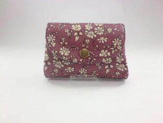 ぷっくり財布 コインケース リバティ カペル ビニコの画像