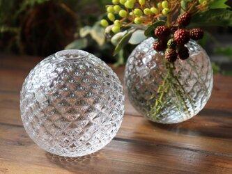 「Frutta花器(L)」 フルッタ 贈り物 ガラスの煌めき 透明感 アトリエソラ ギフトの画像