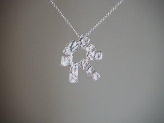 rectangle   シルバーネックレス silver925 ◼pivo◼952の画像
