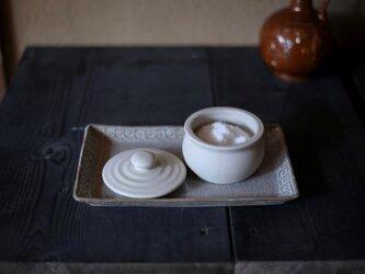 1600年創業 13代目職人 加藤さんのつくる塩甕(かめ)・1合(塩入れ・塩壷)お塩約100グラムほど入りますの画像
