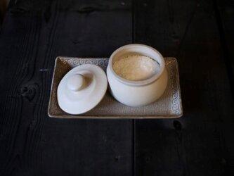 1600年創業 13代目職人 加藤さんのつくる塩甕(しおかめ)・2合(塩入れ・塩壷)お塩約200グラムほど入りますの画像