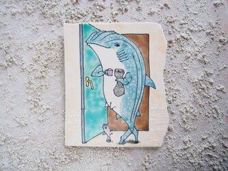 タイルの動物図鑑 ジンベエザメの画像