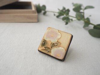 陶器のポニーフック 『芙蓉』の画像