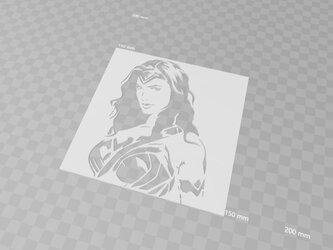 【受注製作】貴方のオリジナルステンシル・型紙を作成いたします(3Dモデリング)の画像