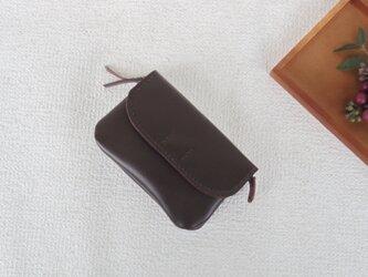 柔らかなお財布(brown  3)の画像
