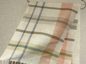 手織りストール SU5の画像