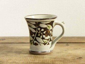 ナナカマド三彩マグカップの画像
