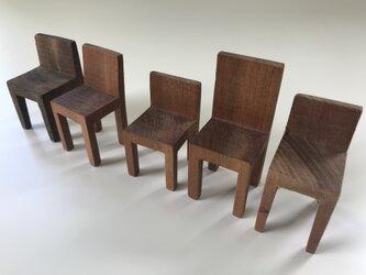椅子置物 背付き③ 5個セットの画像