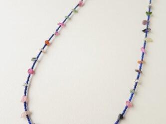 K10・SV Lapis lazuli ・Tourmaline Necklaceの画像