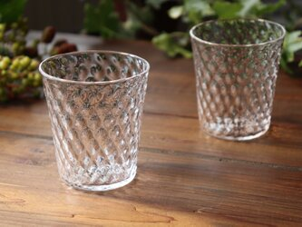 「Fruttaグラス」 フルッタ 透明感  煌めき クリア 果実 シンプル ガラスの画像