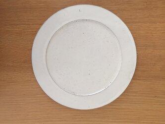 粉引のお皿Aの画像