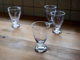水あわビアグラスの画像