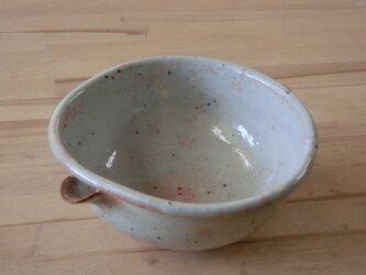 粉引き片口形菜鉢 Cの画像