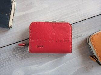 ラウンドファスナー財布【受注製作】の画像