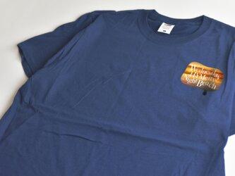 Tシャツ【ネイビー】 滴るWED.HYM プリントの画像