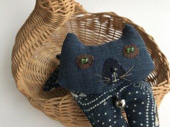 ヴィンテージ藍の猫 あいにゃんです。の画像