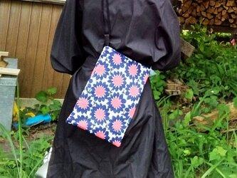リメイク*レトロな花柄の小さめバッグの画像