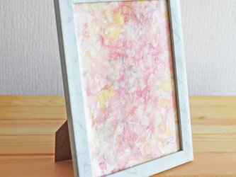 原画 ピンクの雨-pink rain-の画像