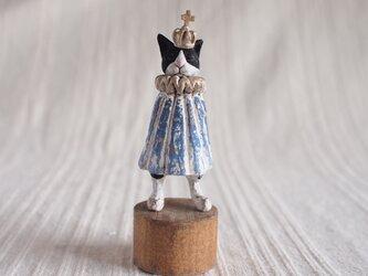 受注制作 いつかの王子様 ハチワレ 塑像の画像