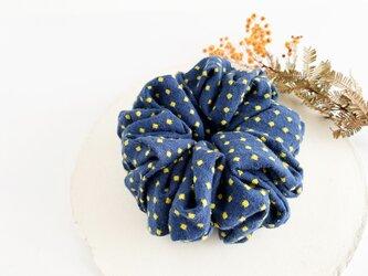 "Hair accessory : シュシュ ""Polka dots""の画像"