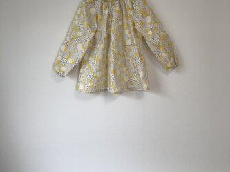 【幼稚園ご準備品】ドット万華鏡スモックサイズ110の画像