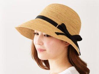 Chloe クロエ ラフィア 女優帽 帽子 たためる帽子 58cm ナチュラル [UK-H055-M]の画像
