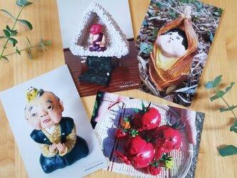 ポストカード 『春夏』4枚セットの画像