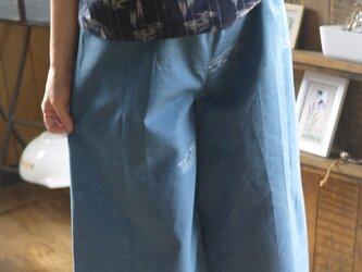 着物サマーウールからパンツの画像
