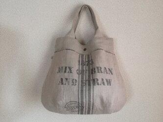 Linen・リトアニア・リネン・手提げBagの画像