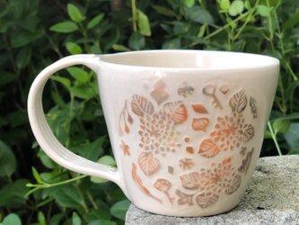 """マグカップ ―kakiotoshi """"hydrangeas"""" #2の画像"""
