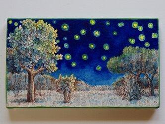 クロシマの星空(原画)[original drawing]の画像