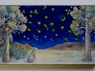森のはずれ(原画)[original drawing]の画像
