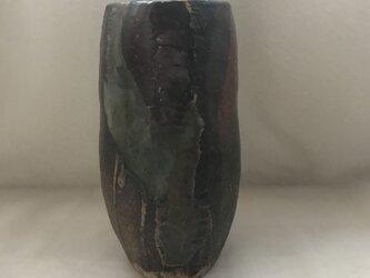 伊賀風の花器の画像