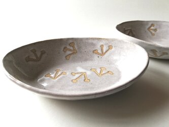 みつまた舟形皿の画像