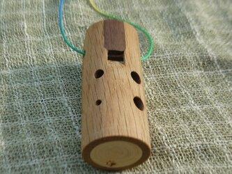 木のオカリナ ナラ アルト管G管の画像
