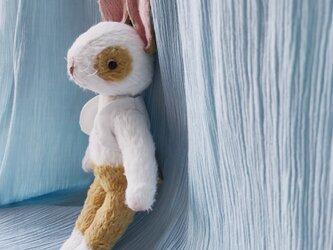 絵本から飛び出してきたようなウサギの男のコの画像