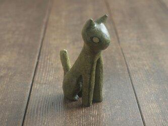 猫◦出来人形◦坐◦190714の画像