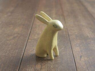 兎◦出来人形◦坐◦190714の画像