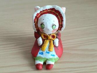 小さなお友達 白猫文化人形レトロちゃんの画像