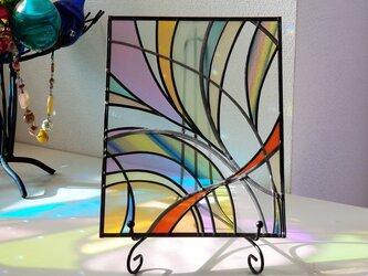 アイアンスタンドヒーリングアート 『光へ』の画像