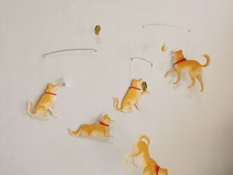 Dogモビール 5匹タイプ フルオーダーの画像
