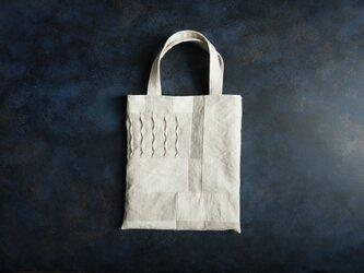 小さな布たちの小さなバッグ作品№7の画像