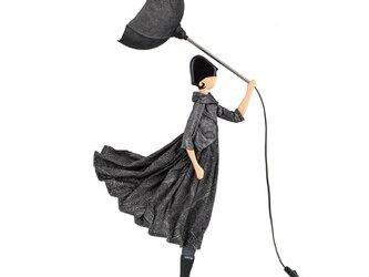 【2019年夏新モデル】風のリトルガールおしゃれランプ Asimina フロアライト 受注製作 送料無料の画像