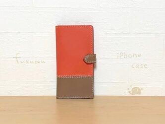 本革のiPhone XRケース* ピンクの画像