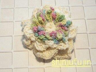 【Sold】お花畑のコサージュ27の画像
