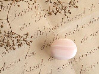 天然石の帯留 ◎ ピンクカルサイト/C【送料無料】の画像