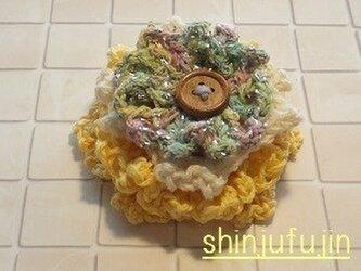 【Sold】お花畑のコサージュ29の画像