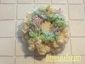 【Sold】お花畑のコサージュ30の画像