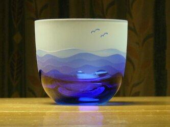 あさなぎ冷茶・冷酒グラス A (1個)の画像