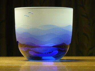 あさなぎ冷茶・冷酒グラス B (1個)の画像